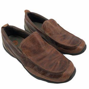 Merrell Men's Veer Chestnut Leather Loafer S- 10.5